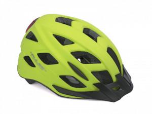 Casca Ciclism AUTHOR Pulse LED X8 58-61 cm Galben Neon