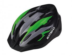 Casca Ciclism EXTEND ELEMENT (58-61 cm) Flamy/Verde
