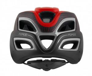 Casca Force Aves MTB E-bike, Rosu-Negru Mat S-M