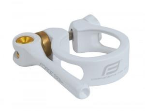 Colier Force cu clema 34.9 mm al alb