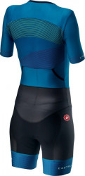 Costum Triatlon cu Maneca Scurta Castelli Free Sanremo 2 W Suit Multicolor M