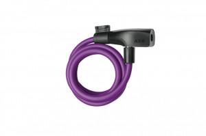 Incuietoare cablu AXA Resolute 120/8 - Royal Purple