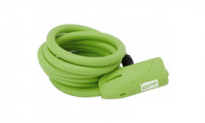 Incuietoare cablu CONTEC Neoloc 10mm*150cm - cheie Verde