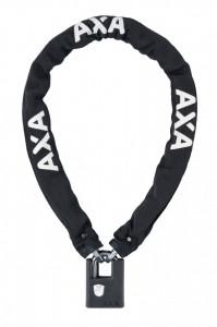 Incuietoare lant AXA Clinch 105x7.5 - Black soft