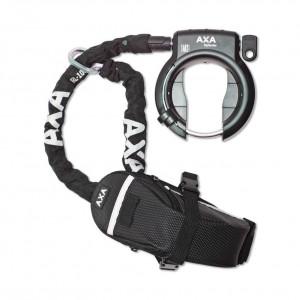 Incuietoare roata AXA Defender + cablu RLC 100 + gentuta