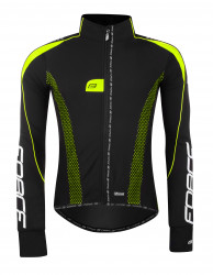 Jacheta Force X72 PRO16 Men softshell negru-fluo L