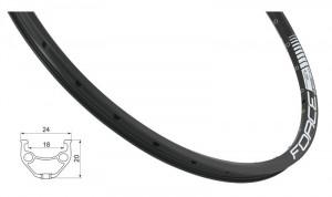 Janta Force Basic Disc 559x18 36h neagra