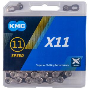 Lant KMC X11 Silver/Negru 114 Zale