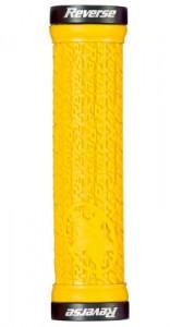 Mansoane Reverse Stamp 30 mm galben/negru
