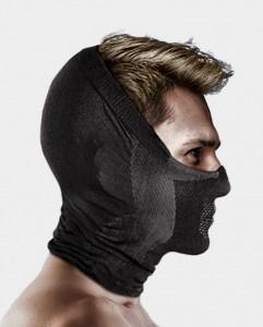 Masca pentru sportivi Naroo Mask X5H Negru/Gri