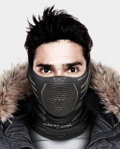 Masca pentru sportivi Naroo Mask X9 Bleu/Bej
