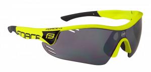 Ochelari Force Race Pro fluo lentila negru laser