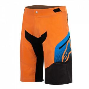 Pantaloni scurti Alpinestars Predator bright orange/bright blue 32