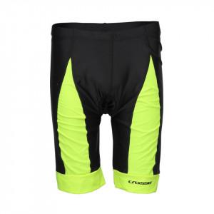 Pantaloni scurti CROSSER CW-17-106 cu bazon - Negru/Albastru M