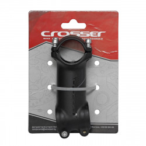 "Pipa CROSSER D507A 1 1/8"" 31.8*80mm +/-7 negru/gri"