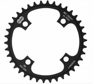 Placa pedalier KMC 42T BCD104 AL7075 Neagra
