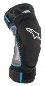 Protectii Genunchi Alpinestars E-Ride Knee Protector Negru / Albastru S/M