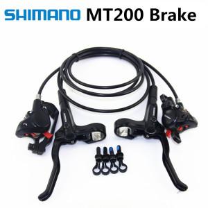 Set Frane Hidraulice SHIMANO MT 200 Resin (L + R)