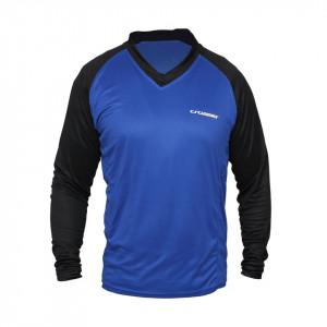 Bluza CROSSER MTB - Albastru/Negru XL