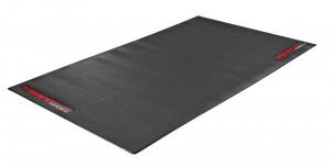 Covor pentru trainer Force MAT, PVC, negru