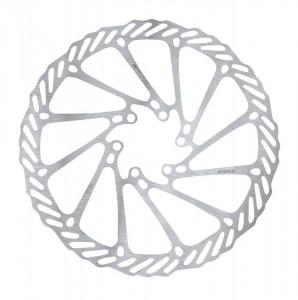 Disc frana Force-2 180 mm 6 gauri argintiu