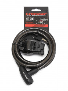 Incuietoare cablu CROSSER MT 203 - Cheie - 12mm*1800mm