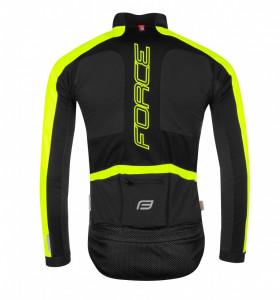 Jacheta Force X100 Pentru Iarna Negru-Fluo XS