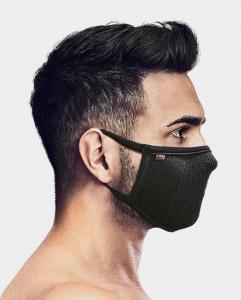 Masca pentru sportivi Naroo FU+ cu filtrare particule S Negru