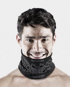 Masca pentru sportivi Naroo Mask E9 Portocaliu
