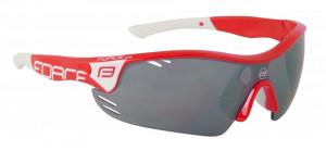 Ochelari Force Race Pro rosii lentila negru laser