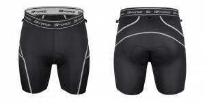 Pantaloni Force Blade MTB cu sub-pantaloni cu bazon Navy XXL