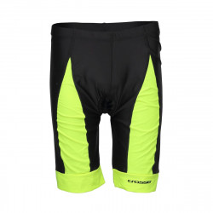 Pantaloni scurti CROSSER CW-17-106 cu bazon - Negru/Albastru XL