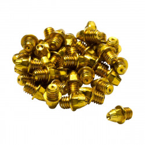 Pini pedale Reverse set 24 bucati aurii