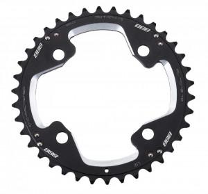 Placa pedalier BBB MTBGear comp. 2x10 Shim. XT 38T/104mm