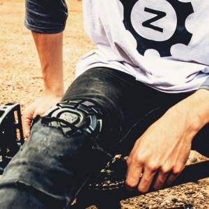 Protectie genunchi TSG Joint Airknit - Black XXL