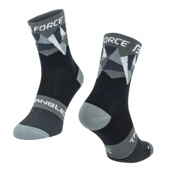 Sosete Force Triangle negru/gri L-XL