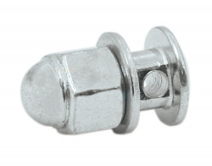 Surub M5 cu gaura pentru cablu frana