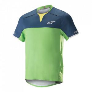 Tricou Alpinestar Drop Pro S/S Jersey poseidon blue/summer green L