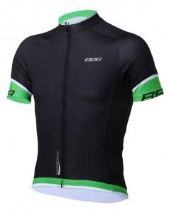 Tricou BBB ComfortFit maneca scurta BBW-246 negru/verde XXL