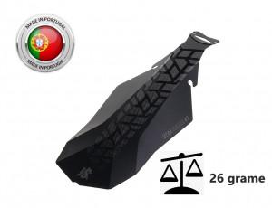 Aparatoare Noroi Spate LASALLE SPORTS UTAH#3 Negru Matt 150x375 mm