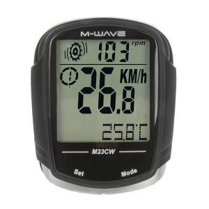 "Bike Computer Wireless M-WAVE ""M23CW"" 23 Functii - resigilat"
