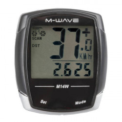 "Bike Computer Wireless M-WAVE ""M14W"" 14 Functii"