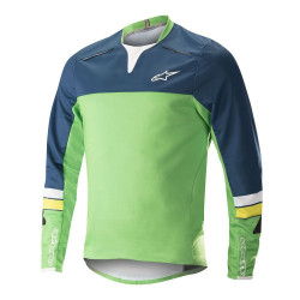 Bluza Alpinestar Drop Pro L/S Jersey poseidon blue/summer green L