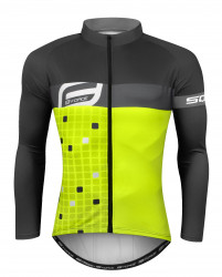 Bluza Force Square Fluo-gri 3XL
