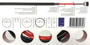 Cablu Schimbator + Camasa IXOW Precision (Mtb/road) - Rosu