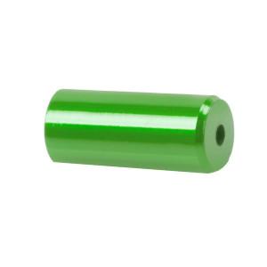 Capete Manta CNC 5,1x12 mm M-WAVE Aluminiu Verde Anodizat