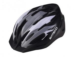 Casca Ciclism EXTEND ELEMENT (58-61 cm) Flamy/Grey