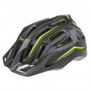 Casca Ciclism MIGHTY HAWK Negru/Verde L(58-62 cm)