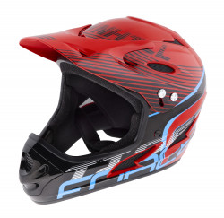 Casca Force Tiger downhill Rosu/negru/Bleu L-XL