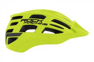 Casca Rock Machine MTB Sport verde fluo S-M (54-58 cm)